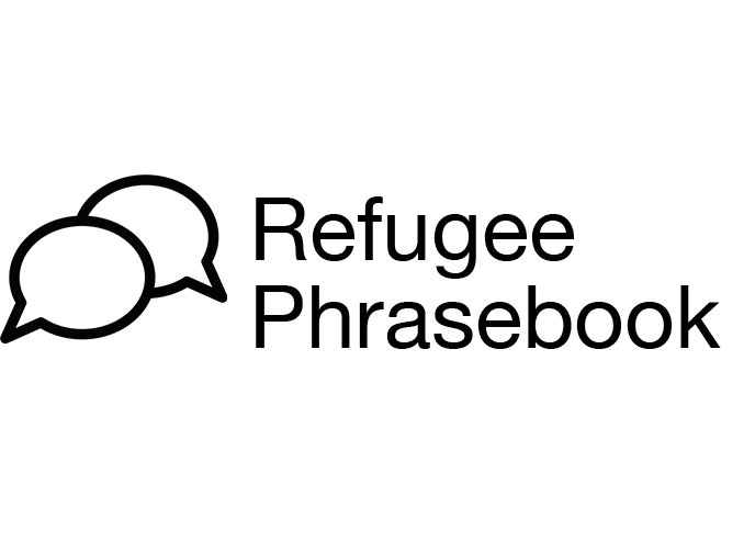Open phrasebook for refugees